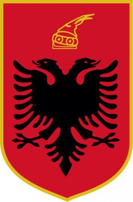 Фото - Албанія: прапор і герб країни. Історія та значення символів