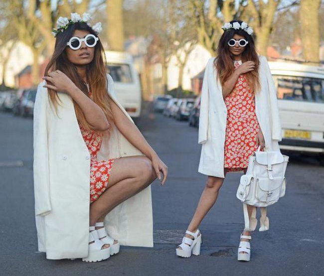 Фото - Босоніжки на тракторній підошві - стильна і жіночна взуття. Поєднання з одягом і аксесуарами