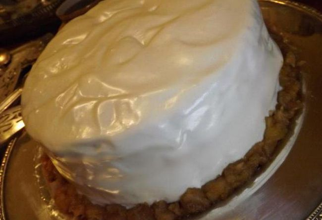 торти з яблуками