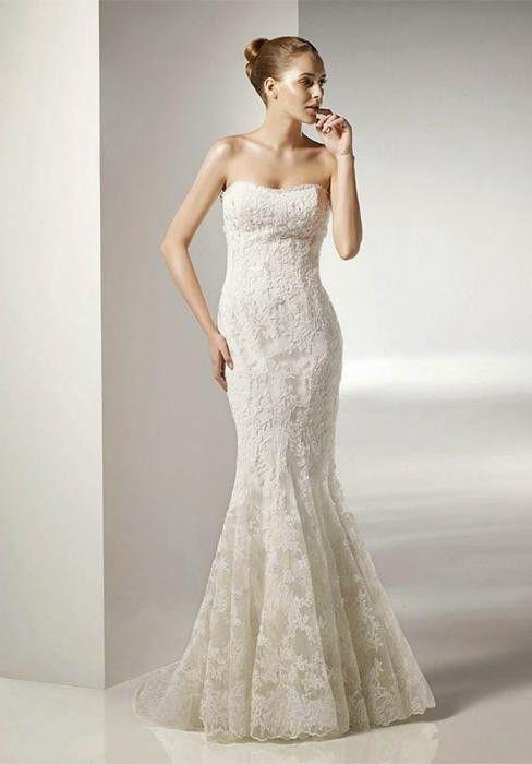 Фото - Прості весільні сукні: види й підходящі випадки