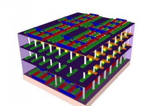 Фото - Розроблено 3d комп'ютерні чіпи, що в 1000 разів швидше, ніж кращі з існуючих на сьогодні