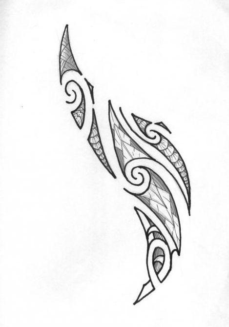 маорі полінезія тату